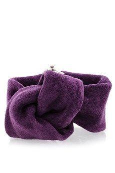 Purple Suede Bracelet  Leather Knotted Bracelet by EleannaKatsira, €42.00