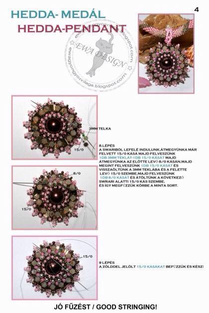 Hedda pendant pattern 4