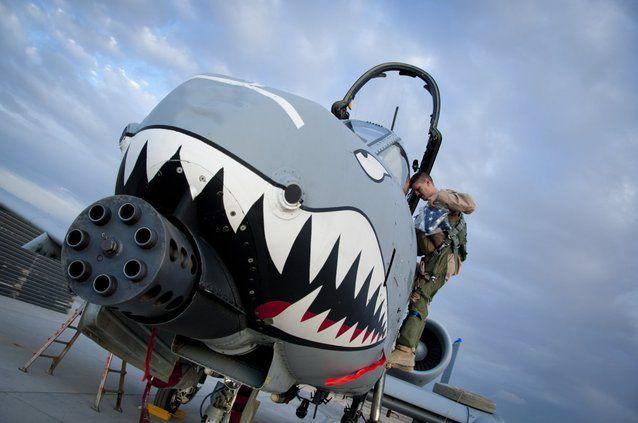 A-10 Thunderbolt II. Misiune: A-10 este special conceput să zboare la o altitudine mică şi cu o viteză scăzută. De asemenea, acesta este construit astfel încât să fie foarte rezistent.