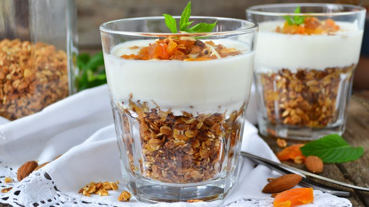 Lekker als gezond tussendoortje, maar ook een prima ontbijtje.