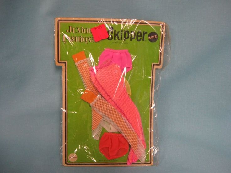 NRFB VTG 1969 JUNIOR FASHIONS SKIPPER UNDER TONES BY MATTEL #Mattel #Dolls