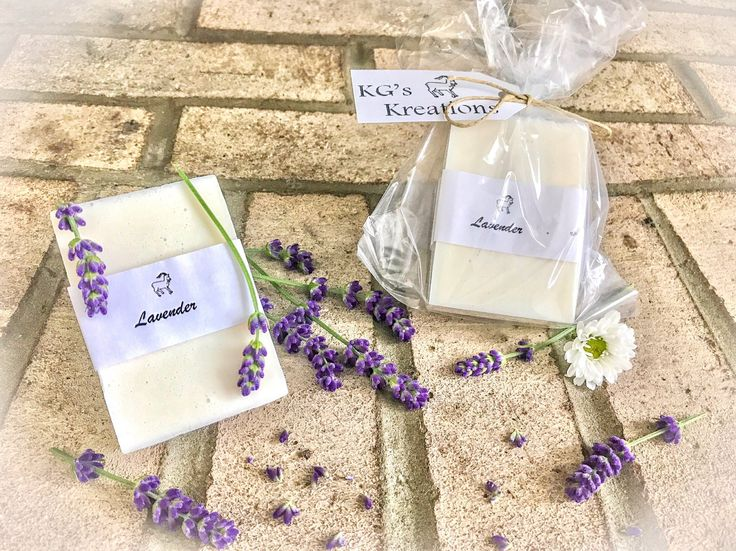Lavender soap, Goats milk soap, small christmas gift, handmade soap, sensitive skin, essential oils, gifts for her, stocking stuffers by KGsKreationsAndMore on Etsy