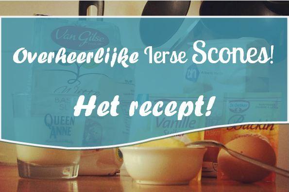 Zelf die overheerlijke Ierse scones bakken? Wij hebben het recept voor je! Klik snel op de afbeelding om naar het recept te gaan!