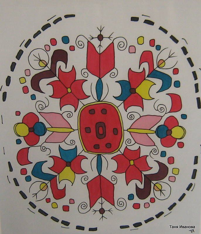 Bulgarian folklore - Embroideries