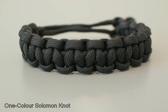 Solomon Cobra Knot Paracord Bracelet Brazaletes Pulseras