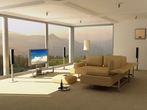 decorating living rooms, ideal layout surround sound