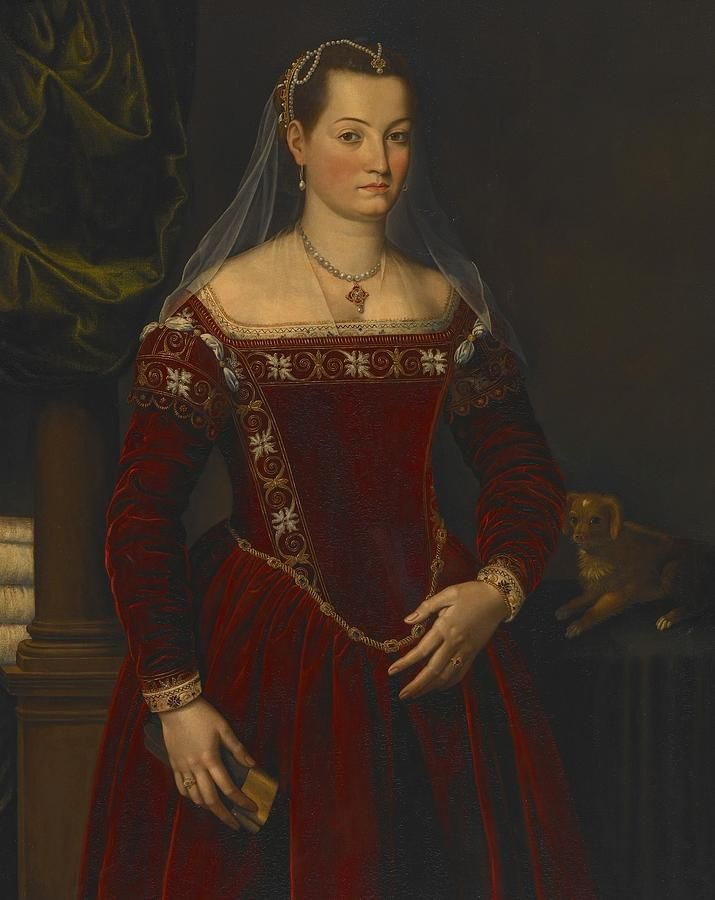 Portrait Of A Lady Painting