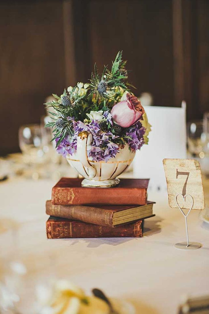 8 Inspirational Table Centre Ideas for Spring and Summer Weddings #Weddings…
