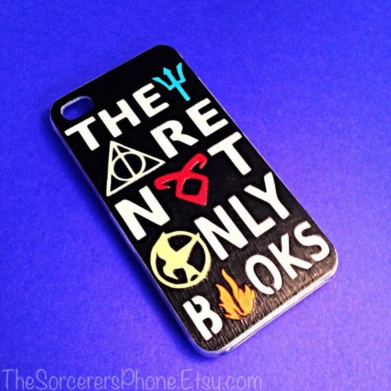 HANDMADE MULTI Fandom Case. Percy Jackson, Harry Potter, Divergent, Mortal Instruments MANY Sizes Available iPhone 4 / 4s Phone cover 5c 5s