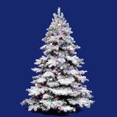 Found it at Wayfair - Flocked Alaskan 3' White Artificial Christmas Tree with 100 Dura-Lit Clear Lights