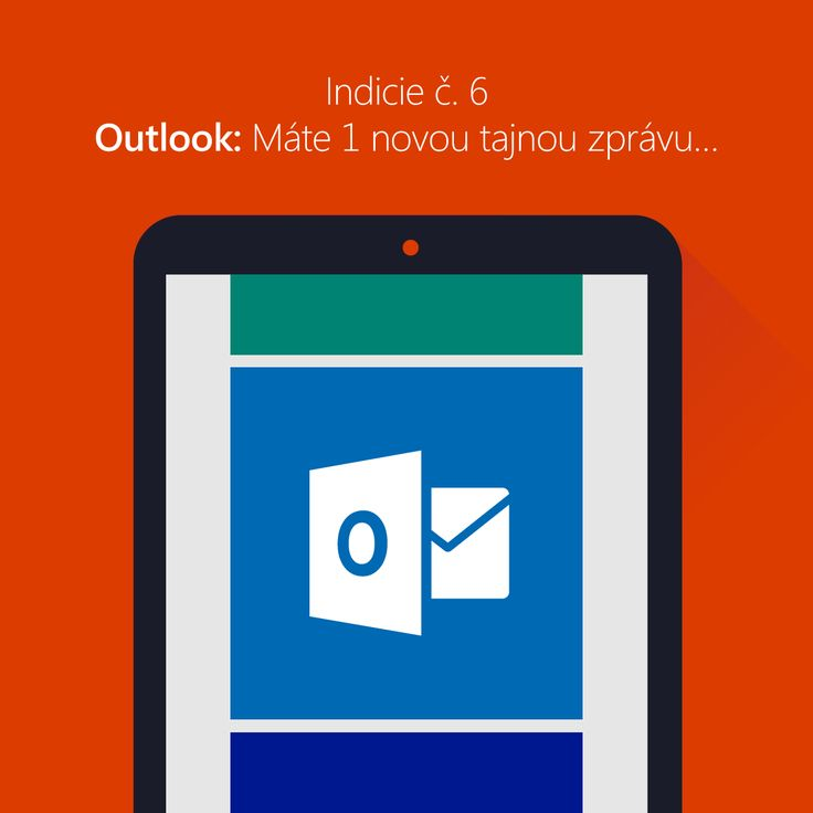 Post č. 6 Outlook. Máte 1 novou tajnou zprávu…  Je tu předposlední indicie v soutěži o tablet Acer Iconia W4! Než se do ní pustíte, je přímo nezbytně nutné mít všechny ostatní pěkně pohromadě. Máte nebo nemáte? Dejte nám vědět. Další část zprávy vám pošleme poštou... vlastně ne, budete si ji muset vyzvednout sami ... Sledujte Facebook MicrosoftCZ