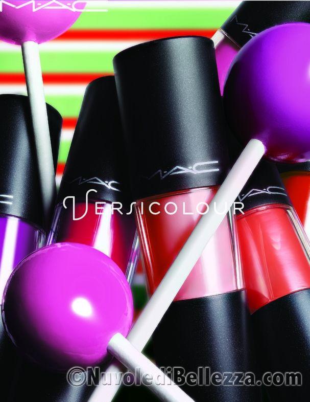 MAC Versicolour Stain: Tinte Labbra Ultra Lucide e Resistenti - Nuvole di Bellezza