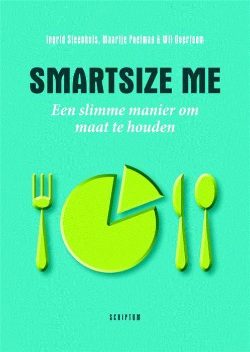 Smartsize me  Hoe kun je op een verantwoorde manier afvallen en controle krijgen over je gewicht? Dit boek helpt je daarbij. Smartsize Me is niet het zoveelste dieetboek en het schrijft zeker niet voor wat je wel en niet mag eten. Op basis van wetenschappelijk onderzoek over eetgedrag lichaamsgewicht en gedragsverandering krijg je zicht op je eetpatroon en de redenen waarom je eet. Op een no-nonsense manier laten de auteurs zien hoe je kunt overleven in de eetjungle en gewicht kunt…
