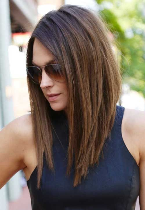 Superb 1000 Ideas About Stacked Bob Long On Pinterest Stacked Bobs Short Hairstyles Gunalazisus
