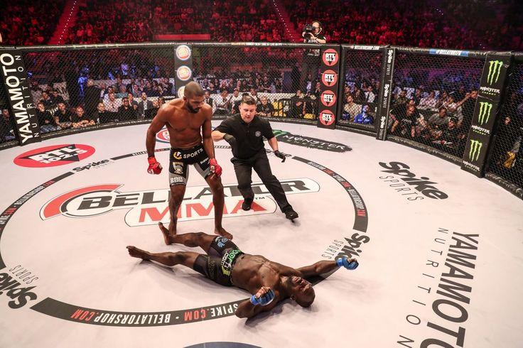 #ICYMI Rafael Carvalho @rafaelcarvalhodesouza retained his #middleweight title at #Bellator176 laying Melvin Manhoef @melvinnomercymanhoef out with a punishing 4th round #headkick  great #fight!  #Bellator #MMA #mixedmartialarts #MLMMA #BellatorMMA #ManhoefvsCarvalho2 #CarvalhovsManhoef2#RafaelCarvalho #MelvinManhoef #combatsports  #boxing  #kickboxing #BJJ #wrestling #martialarts  #mustlovemma #SusanCingari #MMAfighter #combat #twitter #Bellatornews #SpikeTV #ScottCoker…