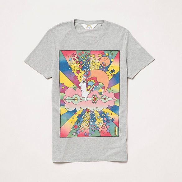 Wrangler Mens Mens Peter Max T-Shirt T-Shirts