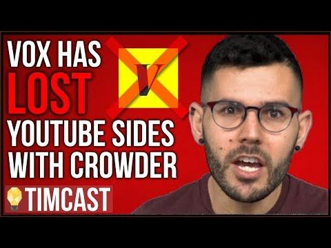 Vox Loses Youtube Has Sided With Steven Crowder But Now Vox