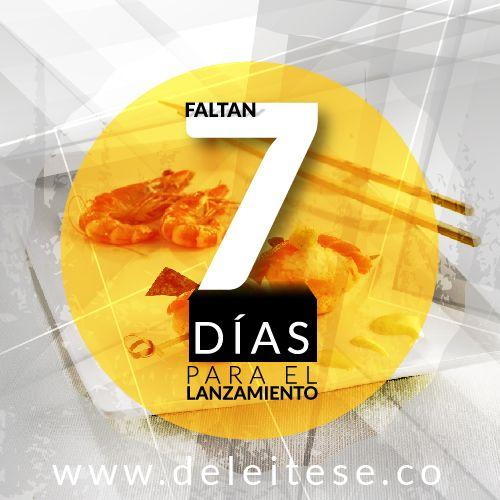Diseños campaña expectativa lanzamiento Deléitese.co