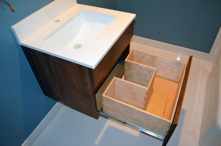 Custom Made Walnut Vanities