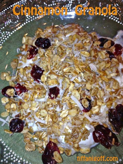 Homemade Cinnamon Granola... | | sweet treats | Pinterest
