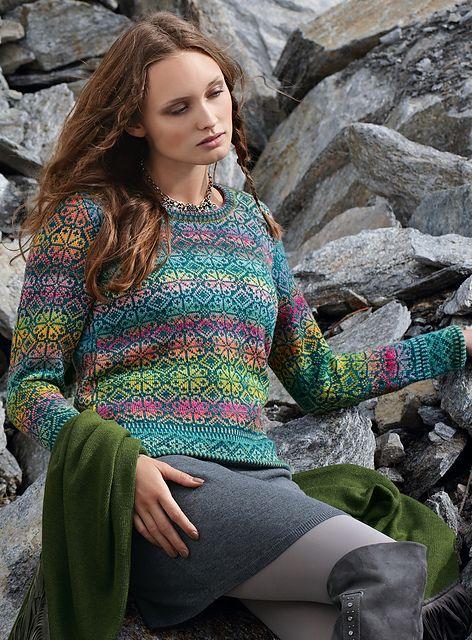 534 best Fair Isle Knitwear images on Pinterest | Tricot crochet ...