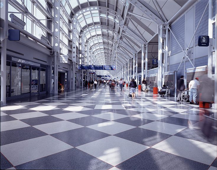 It's been too long since I've last been here---O'Hare International Airport.