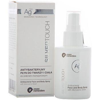 Invex Remedies, Silver Touch, antybakteryjny płyn do twarzy i ciała, 100 ml-Invex Remedies
