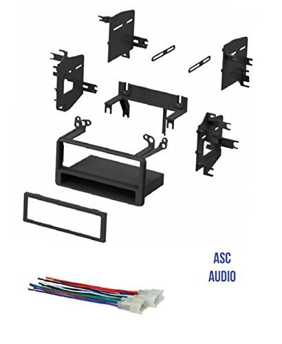Asc Car Stereo Dash Kit And Wire Harness For Some Toyota