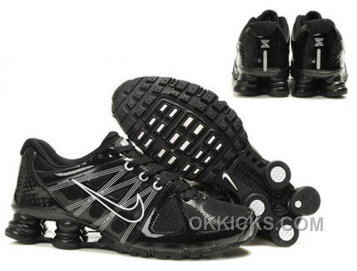 check out 2399f 89f0e ... DELIVER PNT GS S6.5 Y Very clean condition all black   http   www.okkicks.com nike-shox-agent- ...
