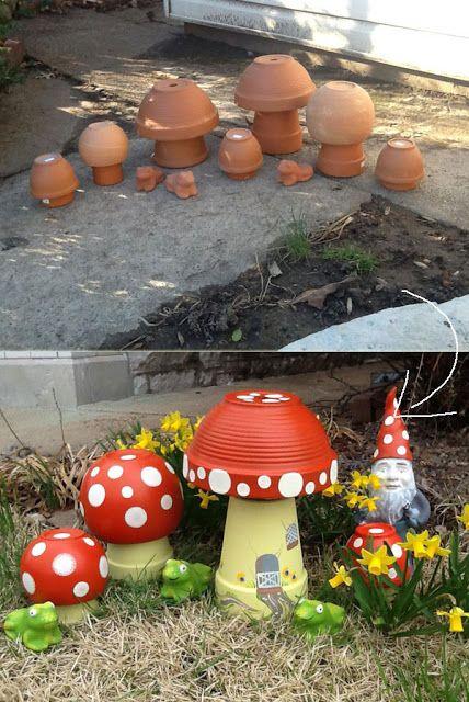 21 clevere Ideen für Garten und Hof mit Terrakotta-Töpfen – Barbara Schoen