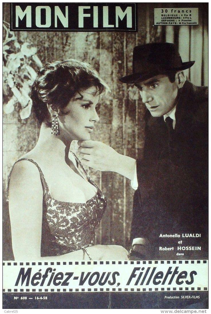 FILM-608-MEFIEZ VOUS FILLETTES-ROBERT HOSSEIN-PIERRE MONDY-GERARD OURY-1957 - Cinema