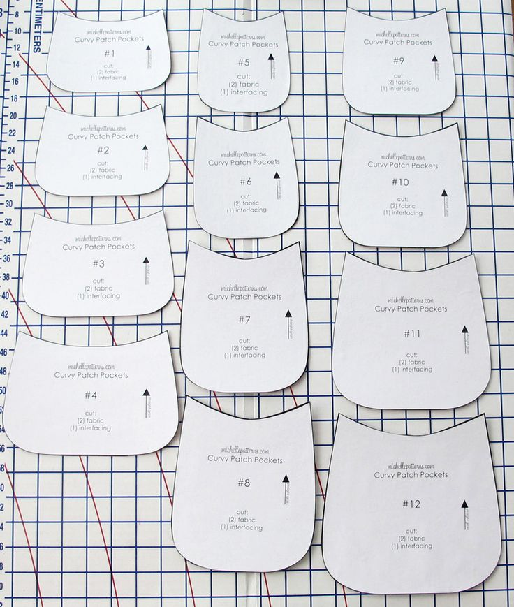 Image of Curvy Patch Pockets