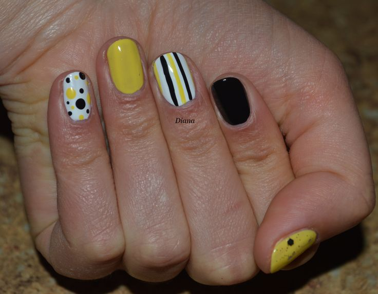 Funky Nail Art For Work Pictures - Nail Art Design Ideas ...