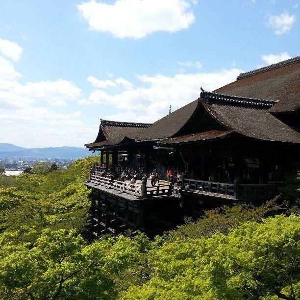 清水寺 (Kiyomizu-dera Temple) , город 京都市, 京都府