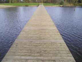 Loopbrug Buitenbad