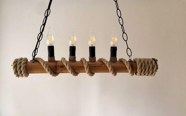 Tamamı el yapımı halat bambu ve ağaç motifli avizeler, kişiye özel ürünler üretilmektedir. Detaylı bilgi almak isteyen arkadaşlar 05427431214 numaralı hattan ulaşabilirler. Model-003