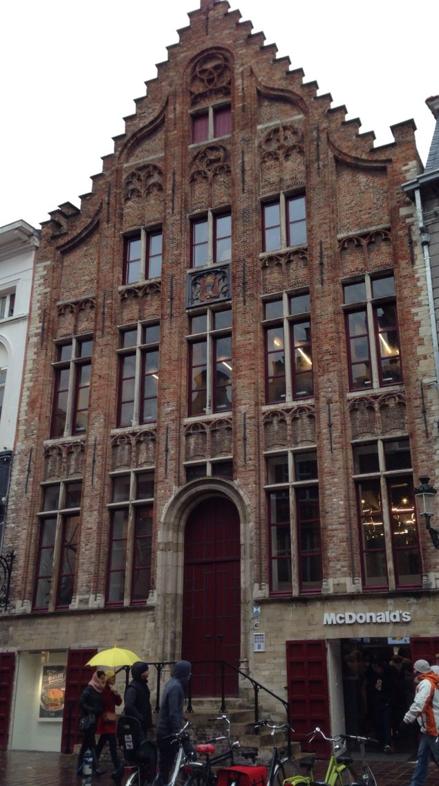 Only Bruges could have McDonald's in such a building!