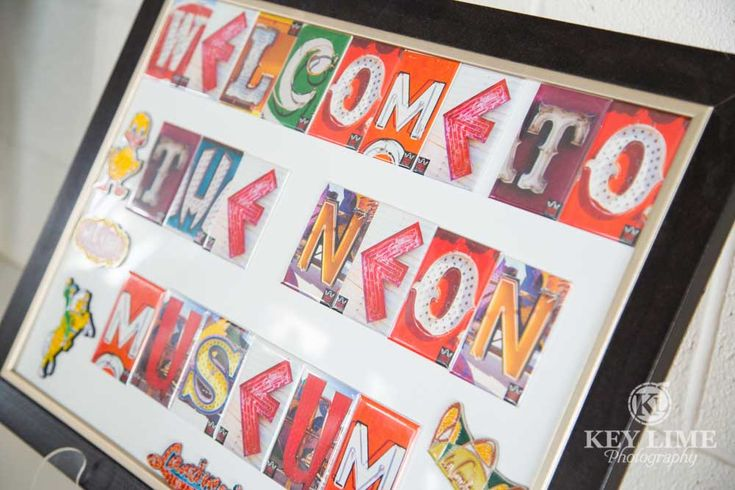 Welcome to...inside the La Concha lobby museum store at the Neon Museum Las Vegas