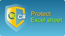 Protect Excel sheet and cells in C#.NET from ASP.NET web pages or windows application by EasyXLS library! XLS, XLSX, XLSM, XLSB files in .NET. #Excel #Protect #Sheet #CSharp #AspDotNet