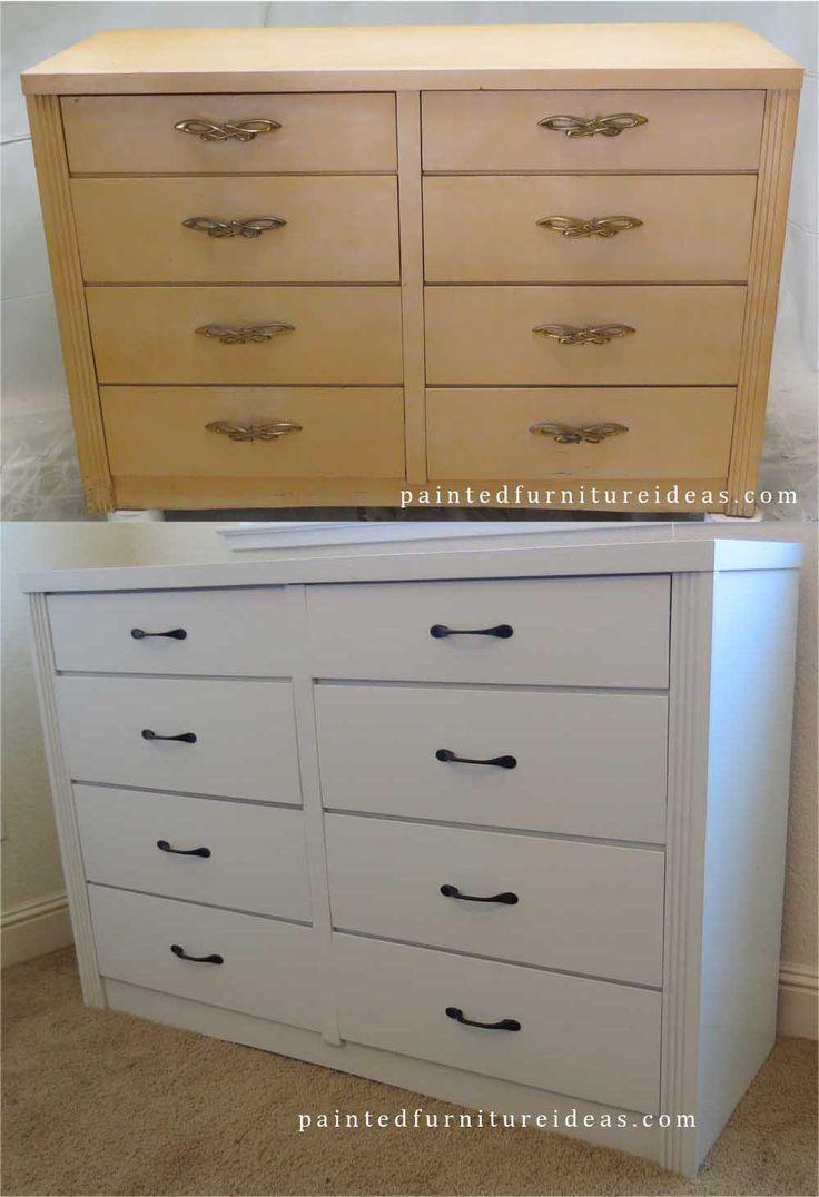 Shabby Chic Dresser Makeover Dresser Hardware And Shabby