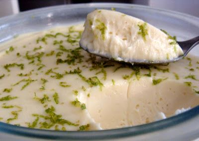 Flavors of Brazil: RECIPE - Lime Mousse (Mousse de Limão)
