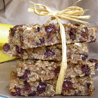 chocolate chip granola bars granola cookies with chocolate chip ...