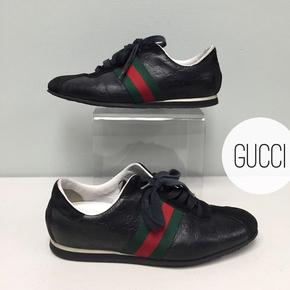 Gucci Sneakers Classic Gucci Sneaker in good condition, with mild wear and scuffing throughout. Gucci Shoes Sneakers