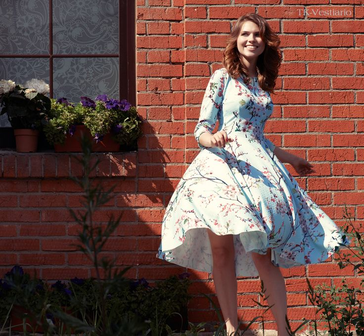 Таисия Кирцова. Цветочное платье | Taissia Kirtsova. Flower dress