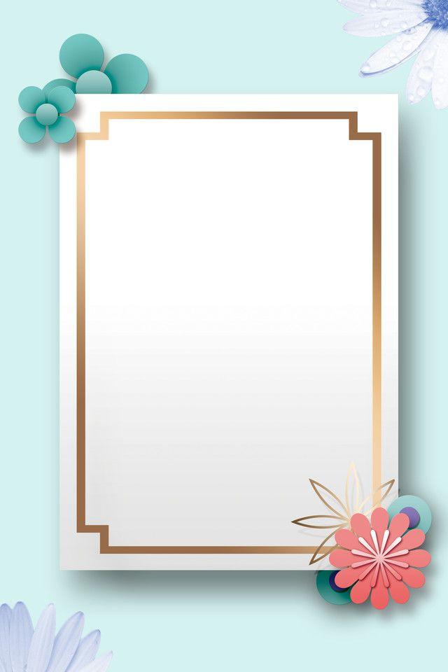 تصميم غلاف مجلة على خلفية بيضاء Best Flower Wallpaper Flower Frame Frame