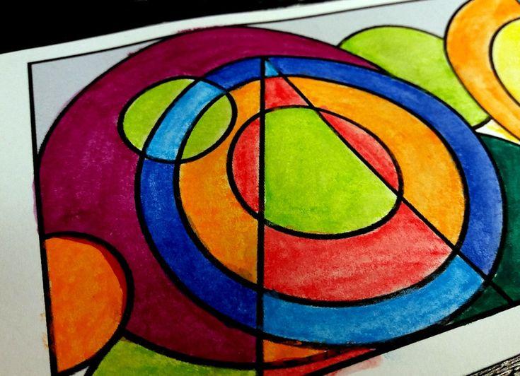 Couronne Delaunay - Le tour de mes idées   Coloriage, Couronne, Crayon de couleur