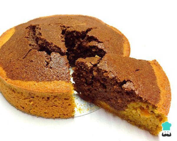 Bizcocho De Zanahoria Y Chocolate Sin Gluten Sin Azúcar Ni Lactosa Receta Chocolate Sin Gluten Bizcocho De Zanahoria Torta De Frutas