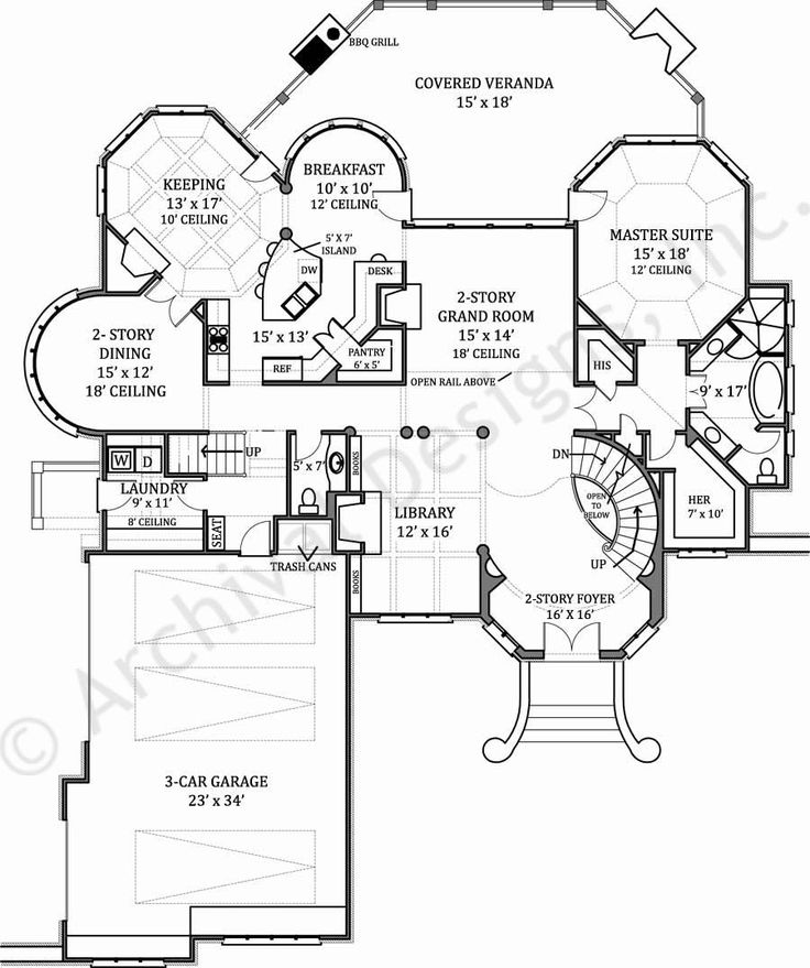 The 25 best Luxury floor plans ideas on Pinterest