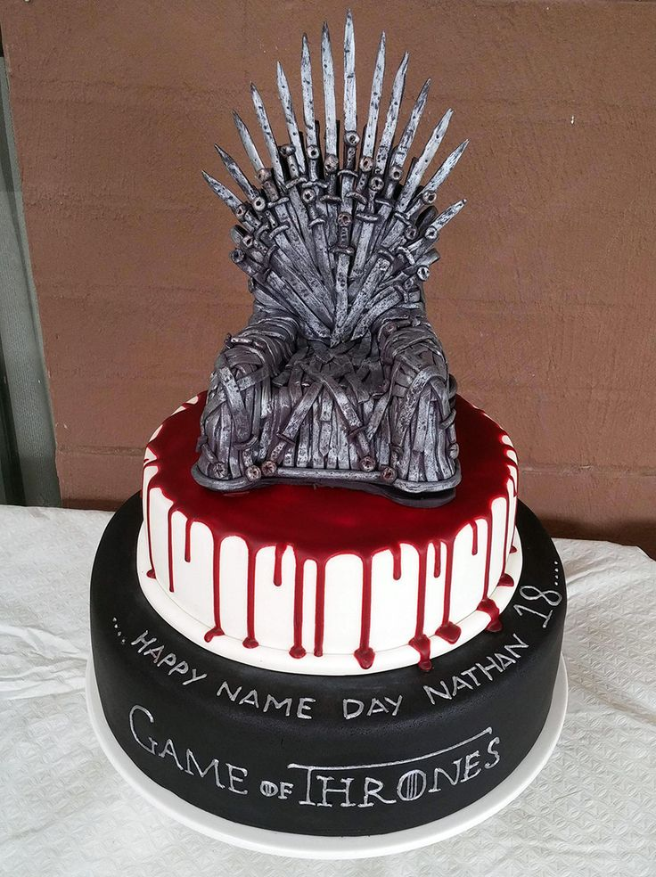 Game Of Thrones Cake Awesome Geek Stuff Pinterest