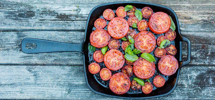 Stekte tomater   Lises blogg
